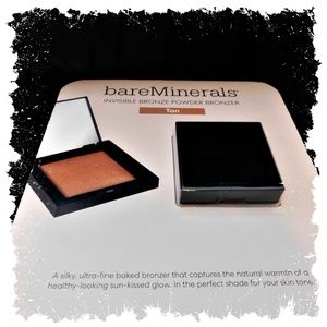 NEW bareMinerals Invisible Bronze Powder Tan